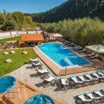 Nova pridobivka-akvatonichen vanshen basein s vgraden bar v Balneo Hotel Sveti Spas Velingrad
