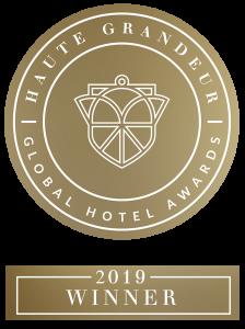 Global hotelier awards Haute Grandeur 2019 for Hotel Saint Spas Velingrad