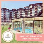 Hotel Saint Spas is the most luxurious thermal water hotel in Europe for 2019